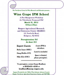Wine Grape IPM Flyer