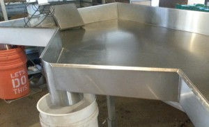 sanitation product contact surfaces