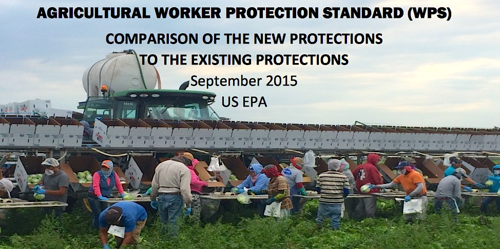 AG Worker Protection Standard