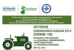 Cover 5-20-2020 NJ DOH Interim Guidance for Migrant-Seasonal Farmworkers